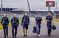3rd September 2021: Circuit Zandvoort, Zandvoort, Netherlands;    Dutch Grand Prix Zandvoort Max Verstappen track walk F1 Grand Prix of the Netherlands at Circuit Zandvoort