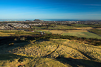Edinburgh and Arthur's Seat from above Hillend, Caerketton, The Pentland Hills, The Pentland Hills Regional Park, Lothian