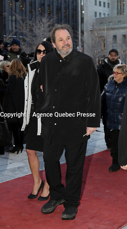 Paul Piche attend the funeral of Rene Angelil, , Friday Jan. 22, 2016 at Notre-Dame Basilica in Montreal, Canada.<br /> <br /> <br /> <br /> <br /> <br /> <br /> <br /> <br /> <br /> <br /> <br /> <br /> <br /> .