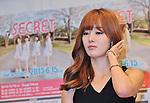 Han Sun Hwa (Secret), Jun 14, 2013 : Tokyo, Japan: Han Sun Hwa of the South Korean girl band Secret attends a press conference in Tokyo, Japan, on June 14, 2013.