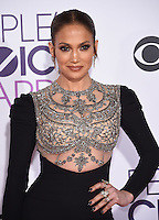 Jennifer Lopez @ the 2017 People's Choice awards held @ the Microsoft theatre.<br /> January 18, 2017, Los Angeles, USA. # PEOPLE'S CHOICE AWARDS 2017