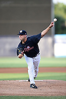 Tampa Yankees pitcher Conner Kendrick (55) delivers a pitch during a game against the Daytona Tortugas on April 24, 2015 at George M. Steinbrenner Field in Tampa, Florida.  Tampa defeated Daytona 12-7.  (Mike Janes/Four Seam Images)