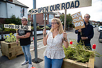 Open our roads – Poole residents protest against Covid-19 active travel improvements.