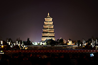Giant Wild Goose Pagoda in Xi'an, China