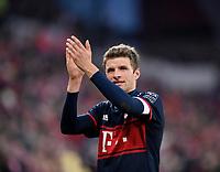 03.02.2018,  Football 1.Liga 2017/2018, 21. match day, 1.FSV Mainz - FC Bayern Muenchen, in Opel-Arena Mainz. Thomas Mueller (FC Bayern Muenchen) . *** Local Caption *** © pixathlon<br /> <br /> +++ NED + SUI out !!! +++