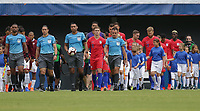 Cincinnati, Ohio - Sunday June  09, 2019: The men's national teams of the United States (USA) and Venezuela (VEN) play in an international friendly match at Nippert Stadium.