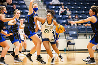 Ivy Johnson (0) of Bentonville West drives towards the basket with against Rogers at Wolverine Arena, Centerton,  AR, Tuesday, January 12, 2021 / Special to NWA Democrat-Gazette/ David Beach