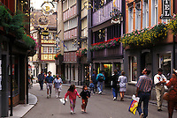 Switzerland, Appenzell, Europe, Downtown Appenzell.