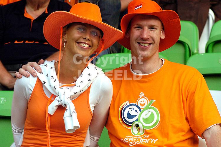 groningen nederland - portugal euro 2007 onder 21 12-06-2007 oranje supporters