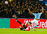 13-09-2017,Rotterdam, de Kuip, Voetbal, Champions League, Feyenoord-Manchester City 0-4<br /> foto Michael Kooren<br /> Berghuis , Walker