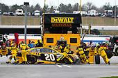 2017 Monster Energy NASCAR Cup Series - Fold of Honor QuikTrip 500<br /> Atlanta Motor Speedway, Hampton, GA USA<br /> Sunday 5 March 2017<br /> Matt Kenseth, DEWALT Flexvolt Toyota Camry pit stop<br /> World Copyright: Barry Cantrell/LAT Images<br /> ref: Digital Image 17ATLbc4831