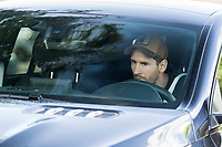 8th September 2020, Barcelona, Spain;  Lionel Messi drives to attend a training session with Barcelona in Barcelona, Spain. Barcelonas Argentinian forward Lionel Messi returned to training with team on Monday, about two weeks after he told the club he intends to leave this summer.