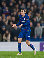 Chelsea's Andreas Christensen during the UEFA Europa League match between Chelsea and Malmo at Stamford Bridge, London, England on 21 February 2019. Photo by Andrew Aleksiejczuk / PRiME Media Images.