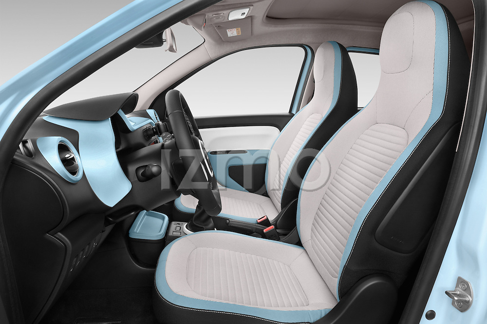 Front seat view of a 2015 Renault Twingo Intens 5 Door Hatchback 2WD Front Seat car photos