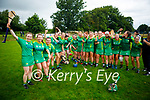 A delighted Kerry team after winning the Munster Junior Camogie final