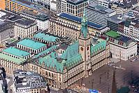 Hamburger Rathaus: EUROPA, DEUTSCHLAND, HAMBURG, (EUROPE, GERMANY), 23.05.2021:  Hamburger Rathaus