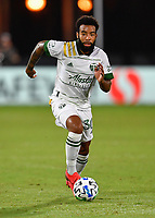 LAKE BUENA VISTA, FL - AUGUST 01: Eryk Williamson #30 of the Portland Timbers runs with the ball during a game between Portland Timbers and New York City FC at ESPN Wide World of Sports on August 01, 2020 in Lake Buena Vista, Florida.