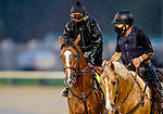 September 3, 2020: Authentic exercises as horses prepare for the 2020 Kentucky Derby and Kentucky Oaks at Churchill Downs in Louisville, Kentucky. The race is being run without fans due to the coronavirus pandemic that has gripped the world and nation for much of the year. Scott Serio/Eclipse Sportswire/CSM