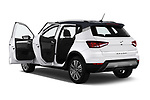 Car images close up view of a 2018 Seat Arona Xcellence 5 Door SUV doors