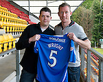 St Johnstone Players Sponsors Night, McDiarmid Park...09.05.12.Frazer Wright.Picture by Graeme Hart..Copyright Perthshire Picture Agency.Tel: 01738 623350  Mobile: 07990 594431