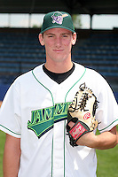 Jamestown Jammers Kyle Winters poses for a photo before a NY-Penn League game at Russell Diethrick Park on July 1, 2006 in Jamestown, New York.  (Mike Janes/Four Seam Images)