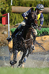 Boyd Martin (USA) aboard Cold Harbor during the ** Cross Country eventing  at  Fair Hill International in Fair Hill, MD  on 10/15/11.  (Ryan Lasek / Eclipse Sportwire)