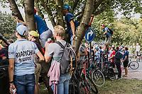roadside fans<br /> <br /> Men Elite – Road Race (WC)<br /> Race from Antwerp to Leuven (268.3km)<br /> <br /> ©kramon