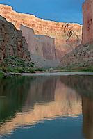Colorado River reflections<br /> Saddle Camp, Marble Canyon<br /> Grand Canyon National Park<br /> Colorado Plateau, Arizona