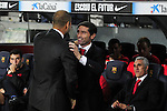 Pep Guardiola & Marcelino. FC Barcelona vs Sevilla FC: 0-0 (LFP-League BBVA 2011/12 - Season: 9)