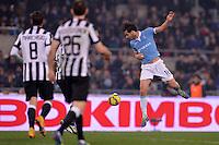 Marco Parolo Lazio.<br /> Roma 22-11-2014 Stadio Olimpico. Football Calcio 2014/2015 Serie A. Lazio - Juventus. Foto Antonietta Baldassarre / Insidefoto