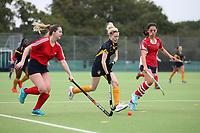 Romford HC Ladies vs Upminster HC Ladies 4th XI, East Region League Field Hockey at Drapers Academy on 16th October 2021