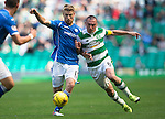 Celtic v St Johnstone...29.08.15  SPFL   Celtic Park<br /> David Wotherspoon and Scott Brown<br /> Picture by Graeme Hart.<br /> Copyright Perthshire Picture Agency<br /> Tel: 01738 623350  Mobile: 07990 594431