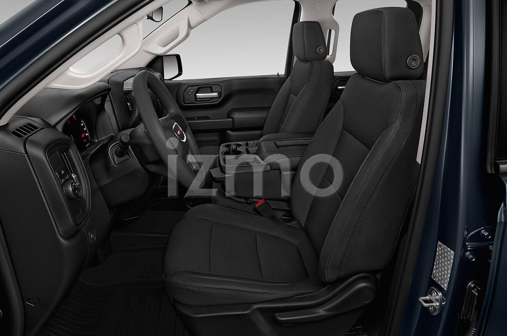 Front seat view of 2019 GMC Sierra-1500 WT 4 Door Pick-up Front Seat  car photos