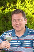 Angelos Iatridis, owner winemaker. Alpha Estate Winery, Amyndeon, Macedonia, Greece