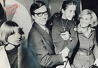 The Family of Quebec Premier Robert Bourassa's wife, Andree, right is being linked with the Liberal government in ways that are becoming embarassing.<br /> <br /> 1973<br /> <br /> <br /> PHOTO : Boris Spremo - Toronto Star Archives - AQP