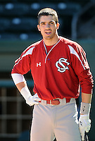 USC infielder Bobby Haney (23) prior to a game between the Clemson Tigers and South Carolina Gamecocks Saturday, March 6, 2010, at Fluor Field at the West End in Greenville, S.C. Photo by: Tom Priddy/Four Seam Images