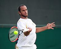 29-06-12, England, London, Tennis , Wimbledon, Xavier Malisse