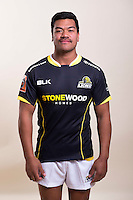 Losi Filipo. Wellington Lions Mitre 10 Cup official marketing portraits at Maidstone Park, Wellington, New Zealand on Wednesday, 17 August 2016. Photo: Marco Keller / lintottphoto.co.nz