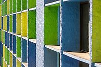 Las Vegas, Nevada.  Geometric Patterns, The Linq Hotel.