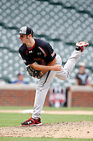 August 8, 2009:  Pitcher Bobby Wahl (19) of the Baseball Factory team during the Under Armour All-America event at Wrigley Field in Chicago, IL.  Photo By Mike Janes/Four Seam Images