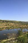 Israel, Jerusalem mountains, Beit Zait water reservoir
