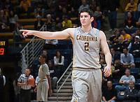 Berkeley, CA - December 10, 2014: California Golden Bears' 45-42 victory against Wyoming Cowboys during NCAA Men's Basketball game at Haas Pavilion.