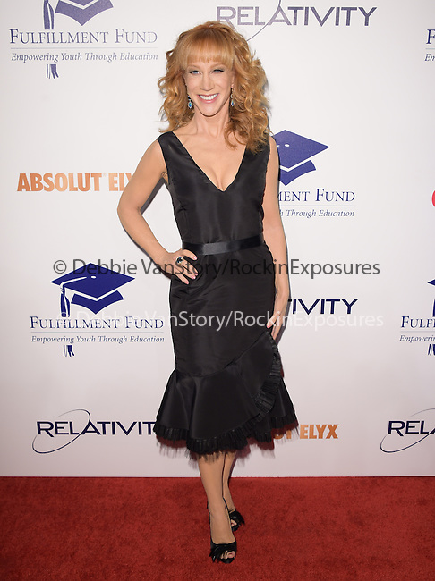 Kathy Griffin at The 20th Annual Fulfillment Fund Stars Benefit Gala held at The Beverly Hilton Hotel in Beverly Hills, California on October 14,2014                                                                               © 2014 Hollywood Press Agency