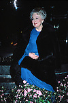 Olivia De havilland attending a party for NIGHT OF 100 STARS Benefit at the Hilton Hotel on February 30, 1985 in New York City.