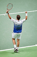 Februari 15, 2015, Netherlands, Rotterdam, Ahoy, ABN AMRO World Tennis Tournament, Stan Wawrinka (SUI)<br /> Photo: Tennisimages/Henk Koster