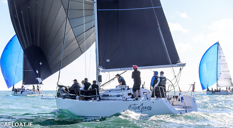 Richard Colwell and John Murphy's Outrajeous finished third overall