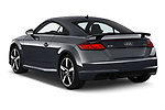 Car pictures of rear three quarter view of a 2019 Audi TT-Coupe Base 2 Door Coupe angular rear