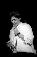 le chanteur quebecois Daniel Lavoie,<br /> date inconnue, vers 1984<br /> <br /> PHOTO :  Agence Quebec Presse