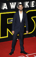 Riz Ahmed attends the STAR WARS: 'The Force Awakens' EUROPEAN PREMIERE at Odeon, Empire & Vue Cinemas, Leicester Square, England on 16 December 2015. Photo by David Horn / PRiME Media Images