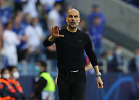 Porto, Portugal, 29th May 2021. Josep Guardiola manager of Manchester City during the UEFA Champions League match at the Estadio do Dragao, Porto. Picture credit should read: David Klein / Sportimage PUBLICATIONxNOTxINxUK SPI-1071-0081 <br /> Oporto 29/05/2021 <br /> Champions League Final <br /> Manchester City Vs Chelsea <br /> Photo Imago/Insidefoto <br /> ITALY ONLY